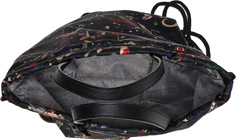 piero guidi Backpack, Zaino Donna, 43.0x33.0x2.0 cm (W x H x L) Nero (Nero (Urban))