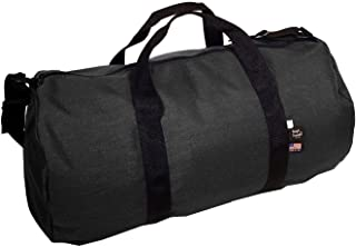 product image for Tough Traveler | 1000 d. Cordura Duffel Bag | Made in USA … (Large, Black)