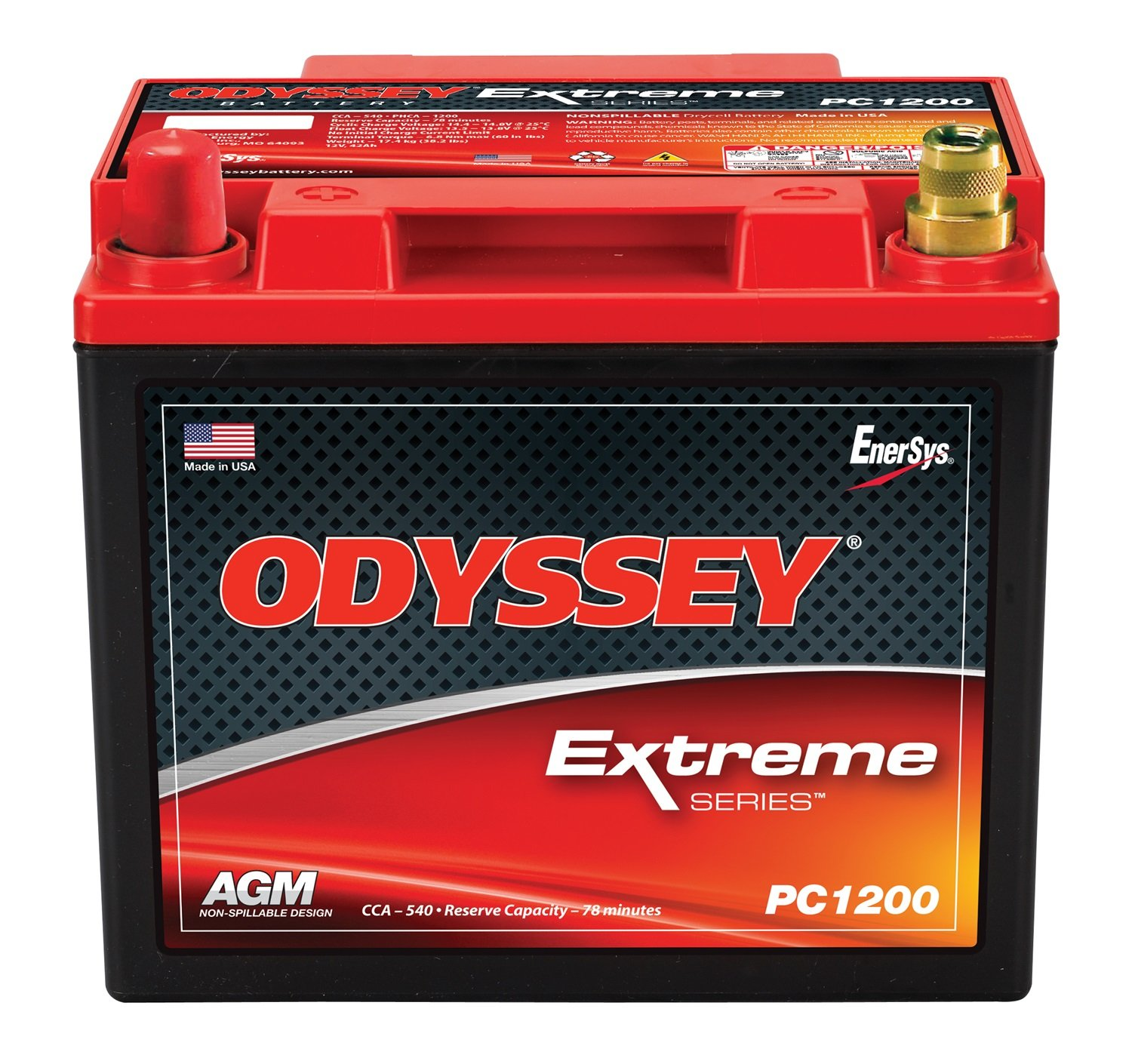 Odyssey PC1200LT Automotive Light Truck Battery