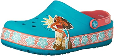 d2e5a6f39d7d65 crocs Lights Moana Clog (Toddler Little Kid)