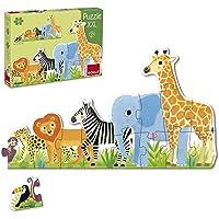 Goula Puzzles infantiles de la Selva de pequeño