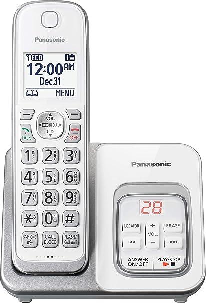 Panasonic KX-TGD530W teléfono inalámbrico con contestador automático – 1 teléfono (reacondicionado Certificado): Amazon.es: Electrónica