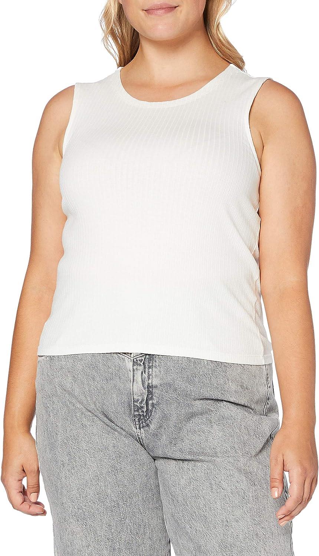 PIECES Pcmollie Tank Top BC Camisa Cami para Mujer: Amazon.es: Ropa y accesorios