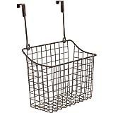 Spectrum Diversified Grid Storage Basket, Over The Door, Large, Bronze