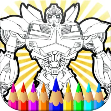 Bumble Bee Coloring Pages Transformer