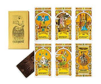 Dal Negro 40011 - Cartas de Tarot egípcio Enoil Gavat, de G ...