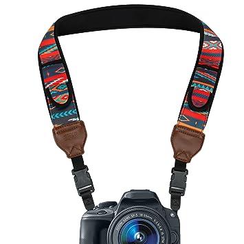Cámara de viaje cámara réflex digital correa para el cuello con ...