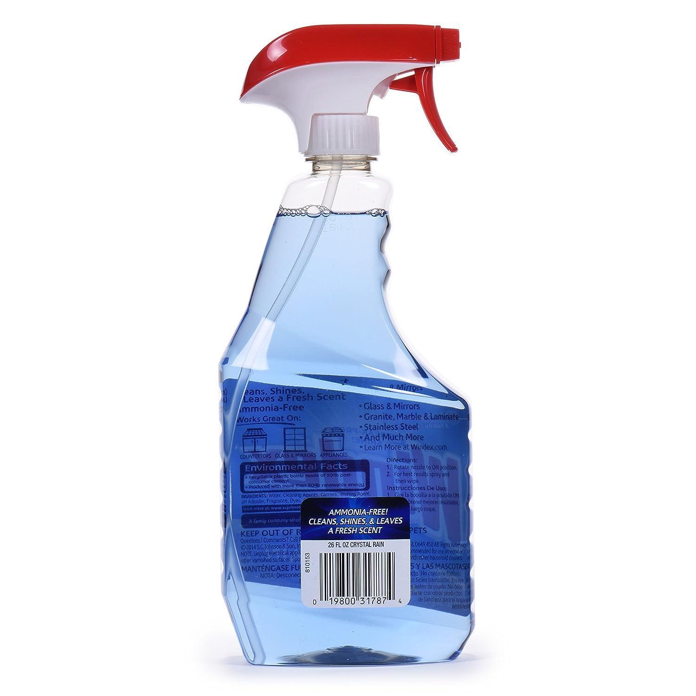 Amazon.com: Windex Crystal Rain Glass Cleaner 26 ounce: Health & Personal  Care