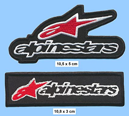 CMT Alpinestars - Parches para Chaqueta de Moto (2 Unidades ...