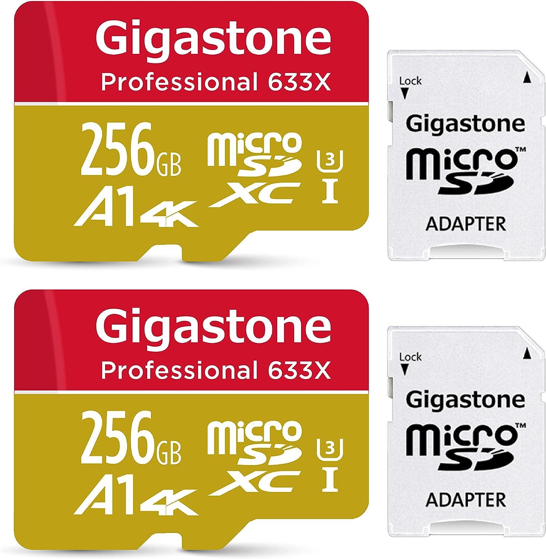 Gigastone Primaria Tarjeta de Memoria Micro SDXC de 256GB con ...