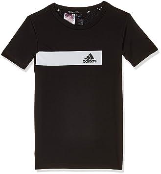 ADIDAS T SHIRT 3 Streifen T shirt Tshirt Kinder Jungen