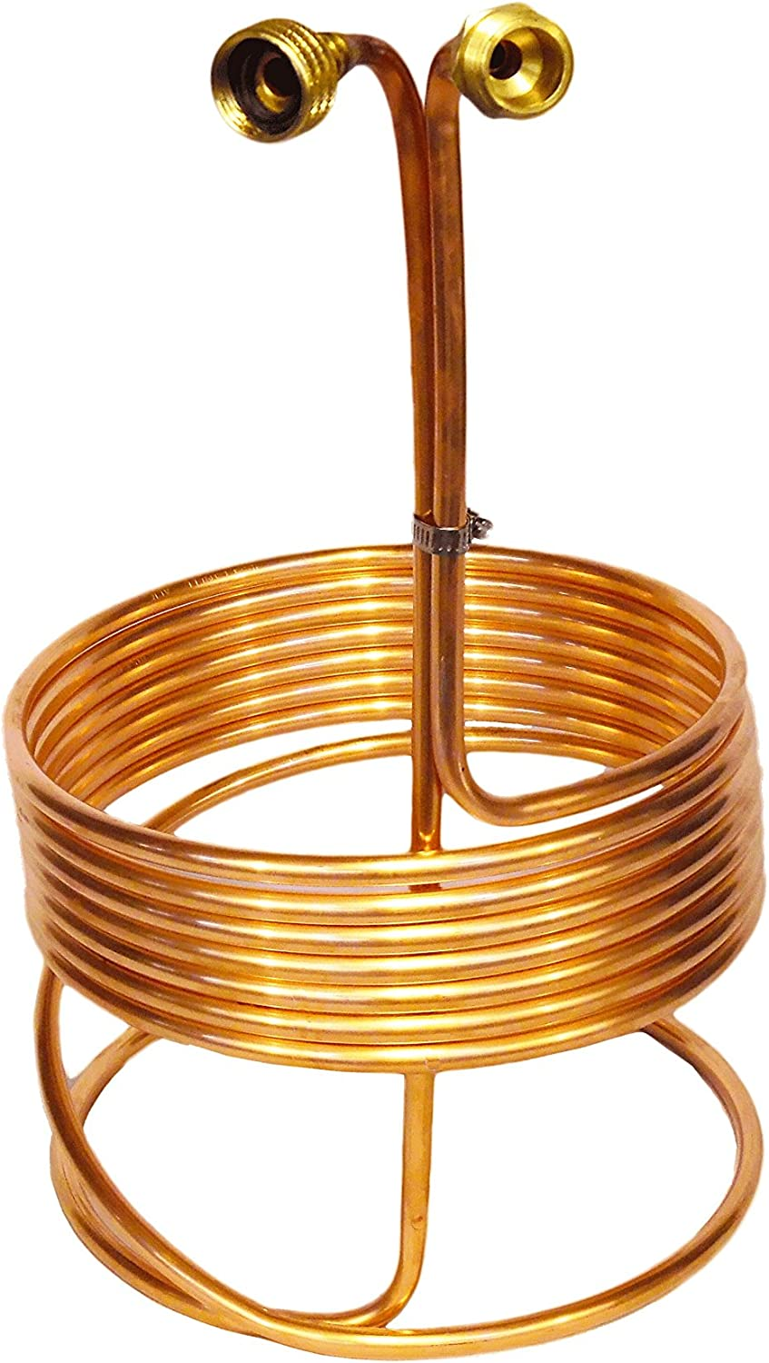 Immersion Wort Chiller w/Garden Hose Fittings