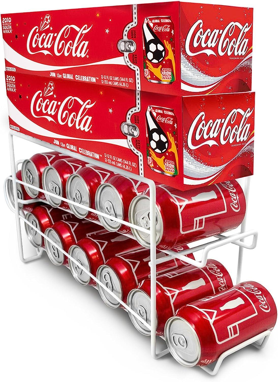 Fridge Storage Rack Beer Iron Rack Soda Can Coke Holder Shelf Organizer Hot Z2U3