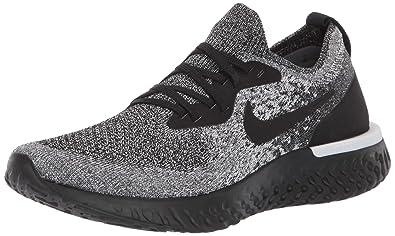 9d1f5cf7113 Nike Women's Epic React Flyknit Running Shoe 8 Black