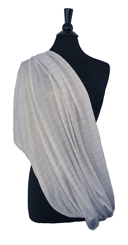 Grey//Navy 2pk LK Baby Infinity Nursing Scarf Breastfeeding Cover Ultra Soft