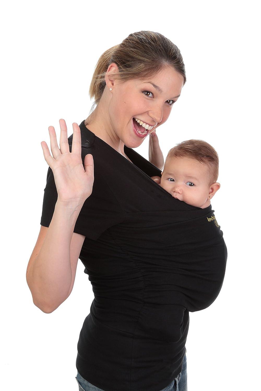 Babytragetuch Amarsupiel Damengröße - XL(48-50) - Schwarz