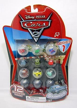 Disney Cars 2 Squinkies Series 1 twelve pack by Blip: Amazon.es: Juguetes y juegos