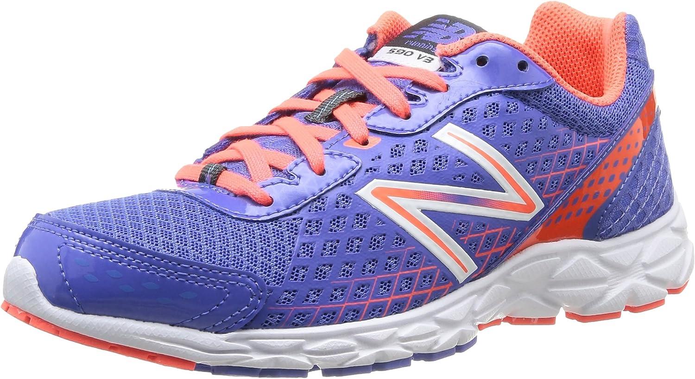 New Balance W590 B V3 - Zapatillas de running para mujer, color rosa púrpura, talla 36.5: Amazon.es: Zapatos y complementos