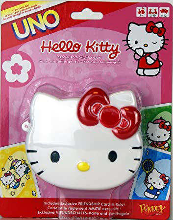 HELLO KITTY UNO CARDS