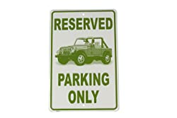 HangTime Jeep Parking Only