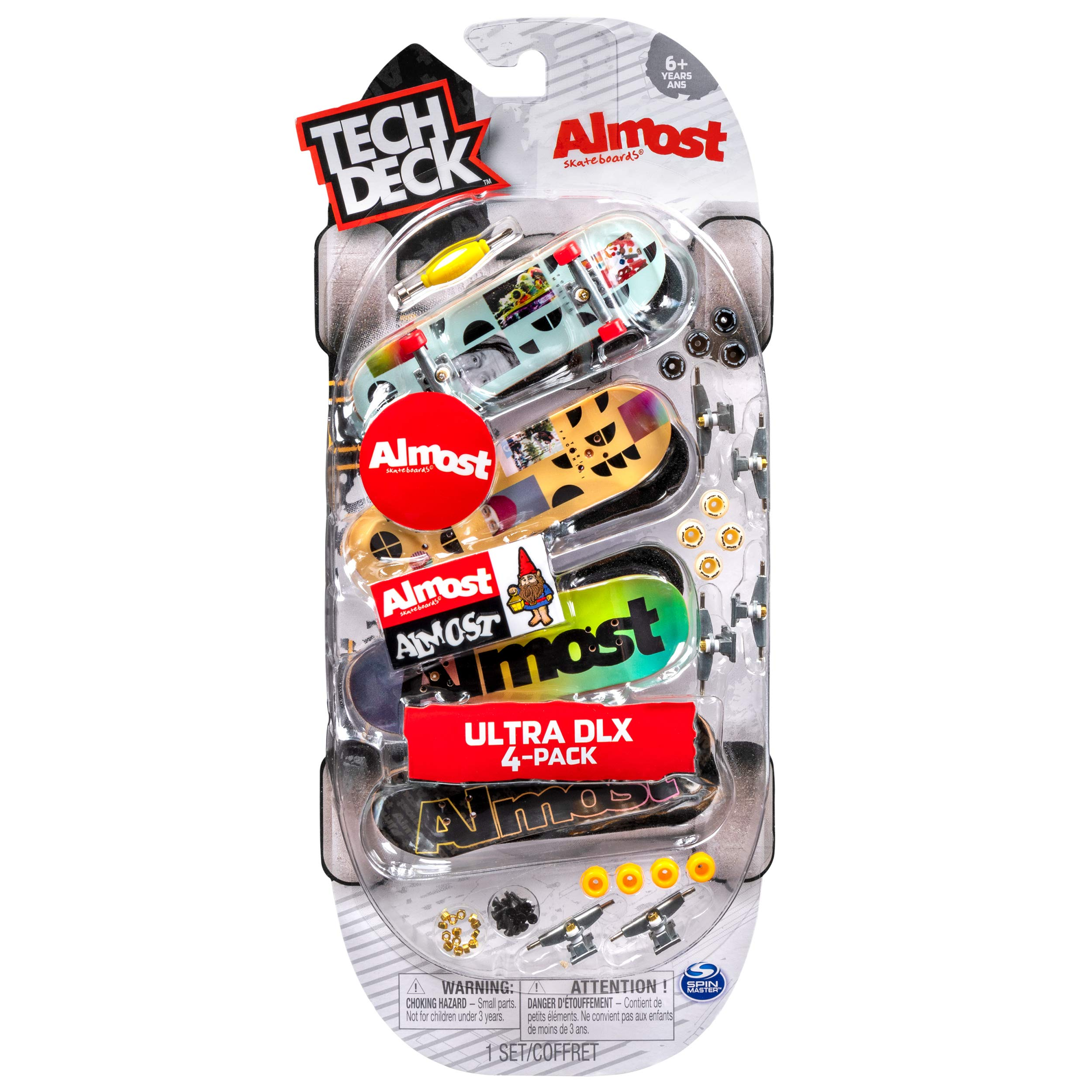 Tech Deck Ultra DLX 4 Pack Almost from Little Folks by TECH DECK