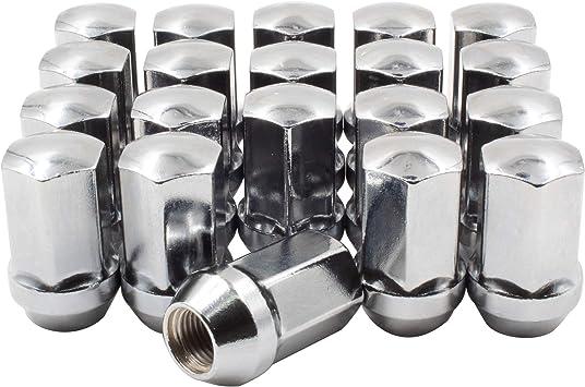 OEM Style Lug Nut M14 X 1.50 Black Lug Nuts Fits Chrysler 300 Dodge Charger Challenger RAM 1500 2500 Wheel Lug Nut 20