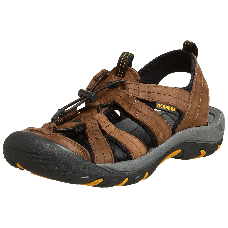 cd146075cabb Nevados mens kariba aqua sandal dark brown us sport sandals slides jpg  1500x1500 Mens nevados sandels