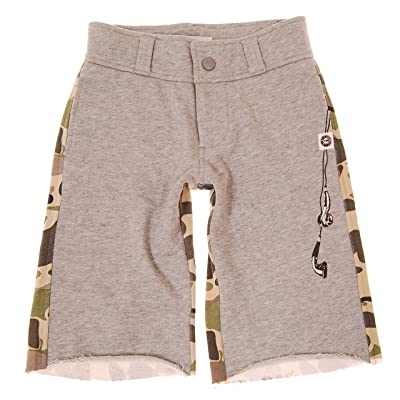 Mini Shatsu Little Boy's Camouflage Earbuds Shorts (6M)