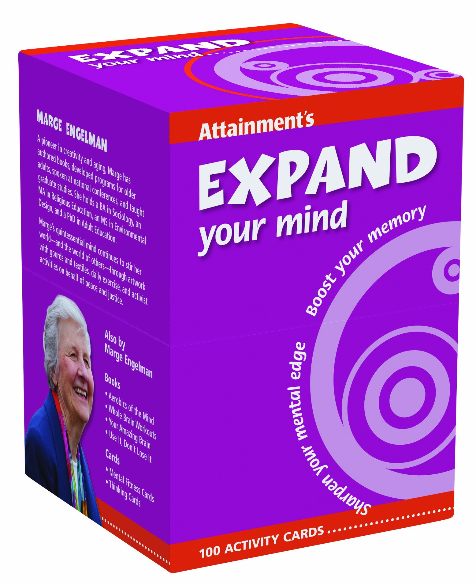 purple box of Expand Your Mind cardset