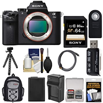 Amazon.com: Sony Alpha A7 II - Cámara digital con tarjeta de ...
