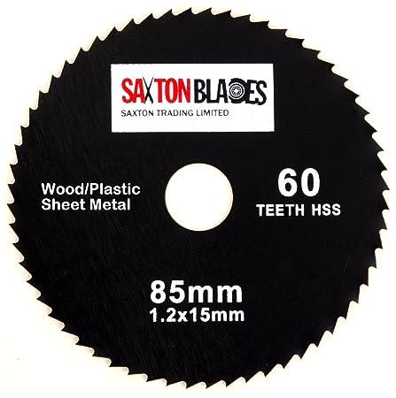 Saxton 85mm x 60t hss circular saw blade worx worxsaw bosch makita saxton 85mm x 60t hss circular saw blade worx worxsaw bosch makita ryobi etc keyboard keysfo Images