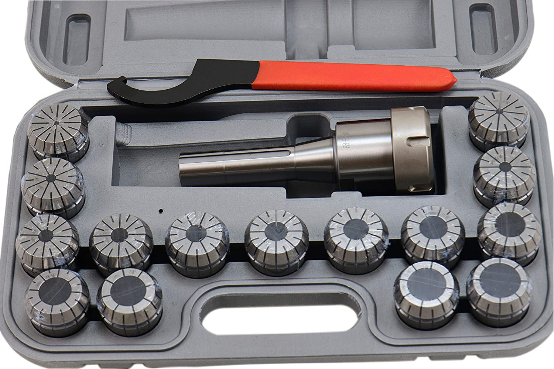 "R8 ER40 Collet Chuck Tool Holder 2.76/"" Projection"