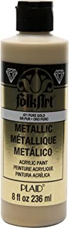 product image for FolkArt Acrylic Paint in Assorted Colors (8 oz), , Pure Gold