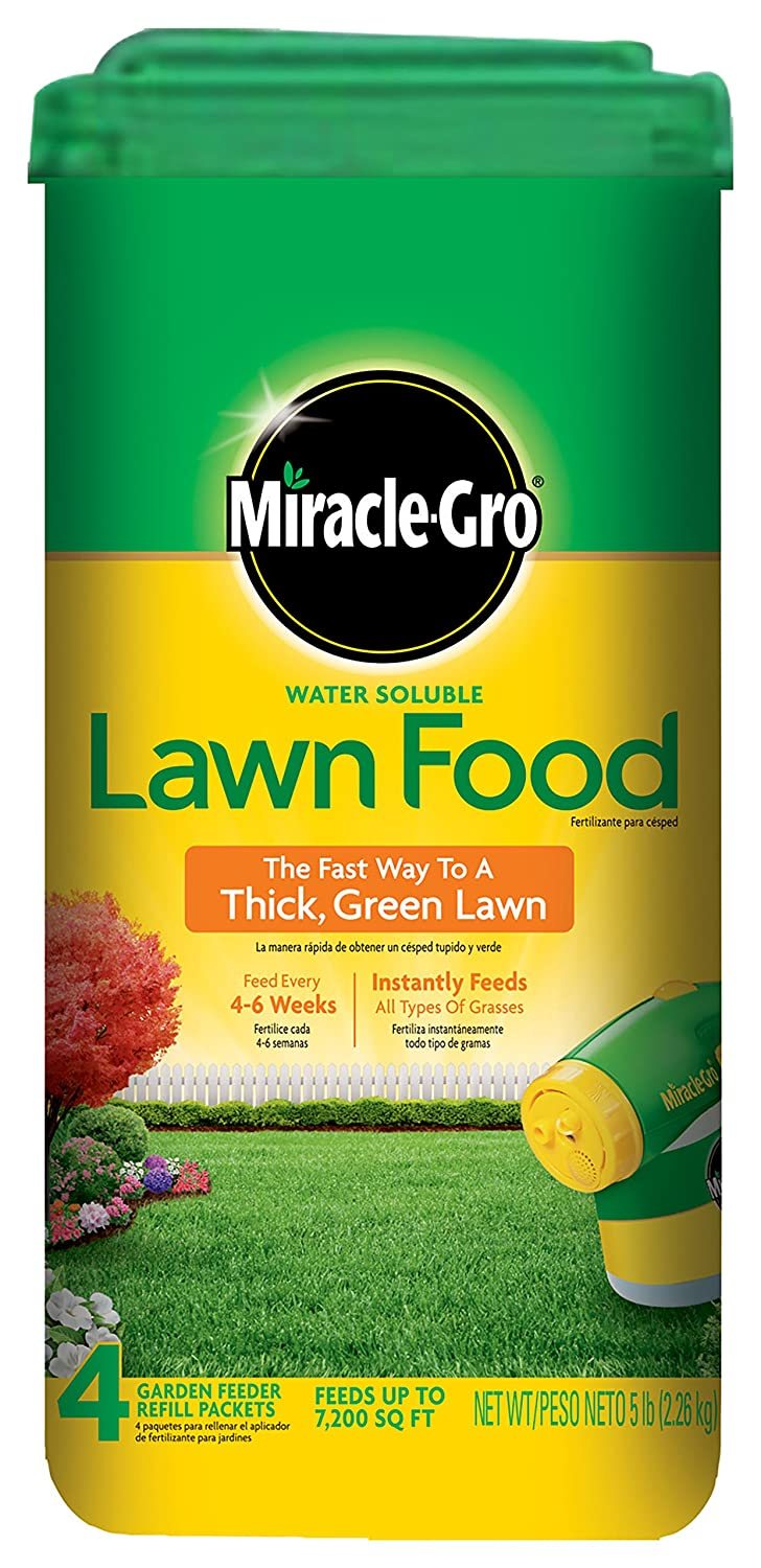 Scotts Miracle Gro 1001834 Lawn Food is 2020 best lawn fertilizer