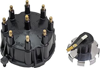 Quicksilver 805759Q3 Distributor Cap Kit Marinized V-8 Engines by General Motors with Thunderbolt IV and V HEI Ignition Systems