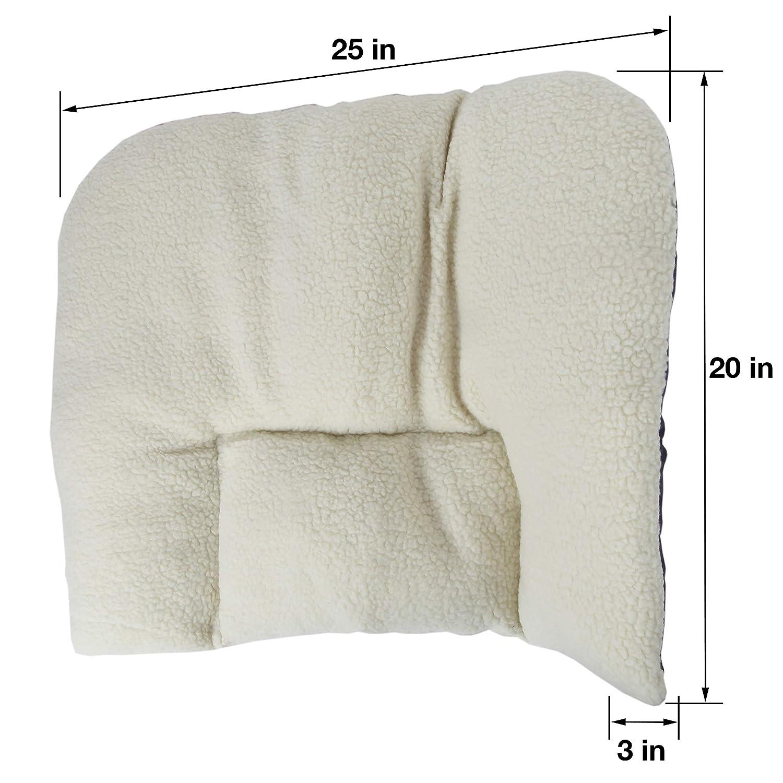 Trenton Gifts Fleece Back Support Pillow