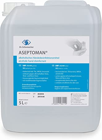 Dr Schumacher Aseptoman Viral Handedesinfektion 150 Ml Kittelfl