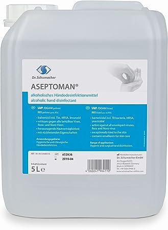 Aseptoman Handedesinfektion Kanister 5 Liter Amazon De Drogerie