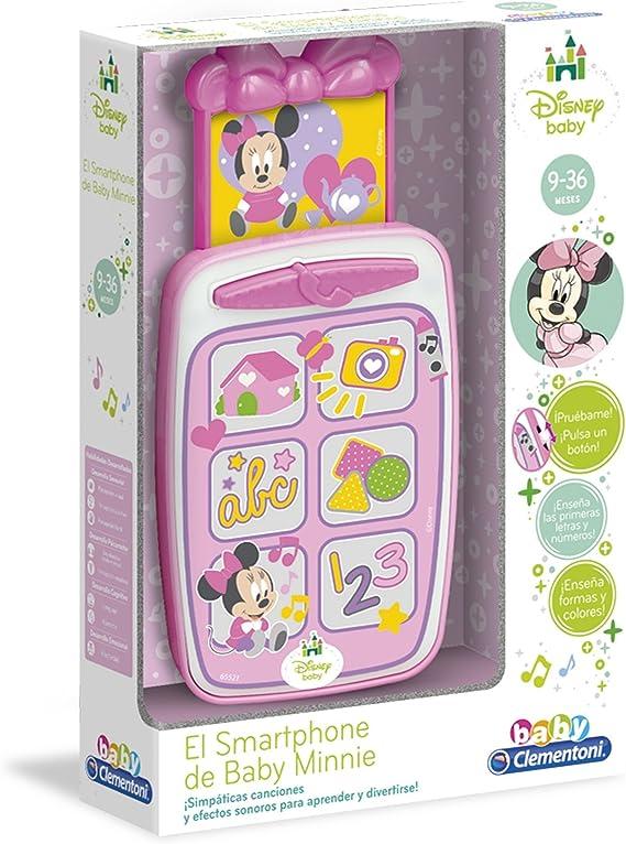 Clementoni - Smartphone de Minnie (65521.2): Amazon.es: Juguetes y ...
