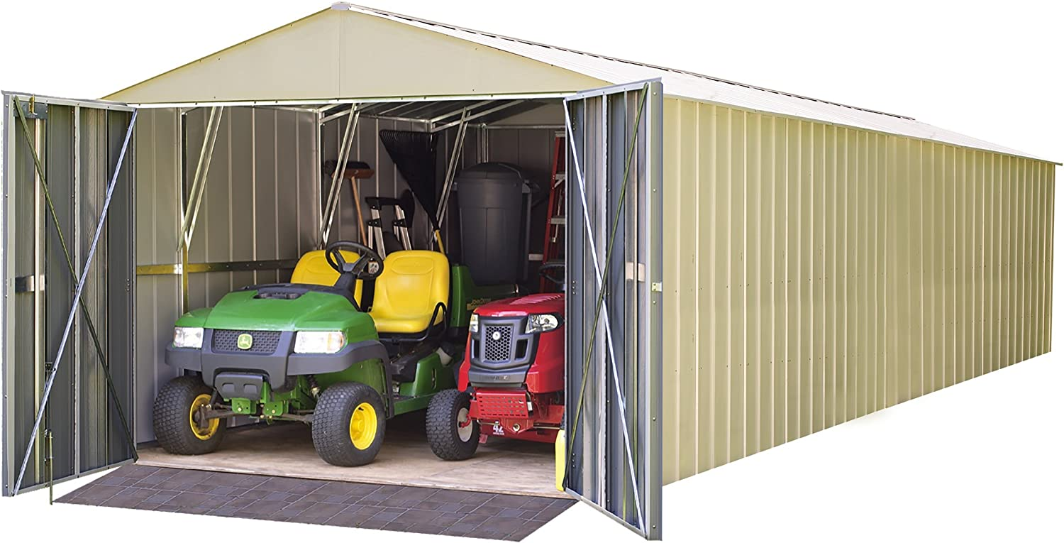 Amazon.com: Acero Storage arrojar 10 x 30 ft. High Gable ...
