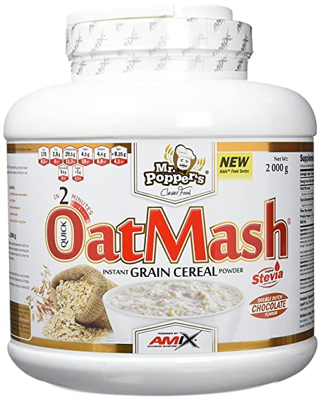 Mr. Poppers OatMash 2 Kg Fresa-yogurt