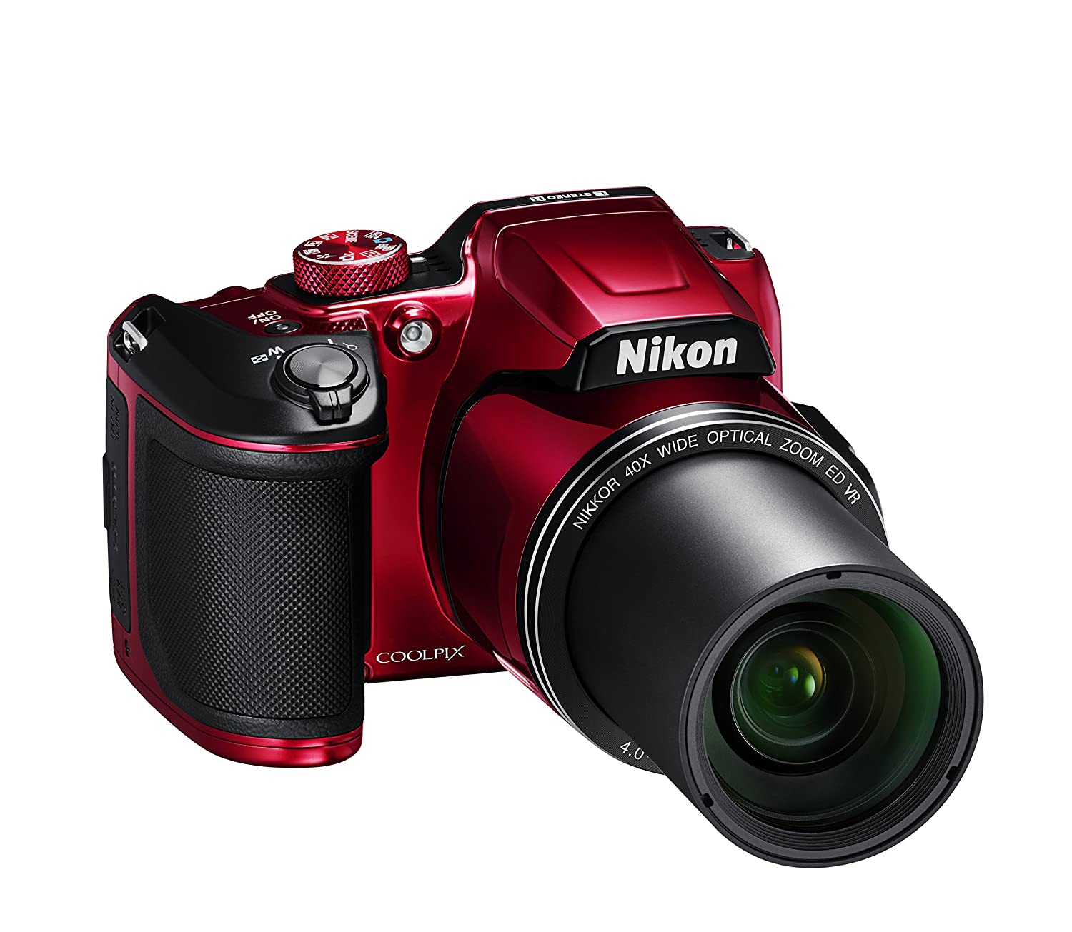 Amazon Nikon COOLPIX B500 Digital Camera Red Camera &