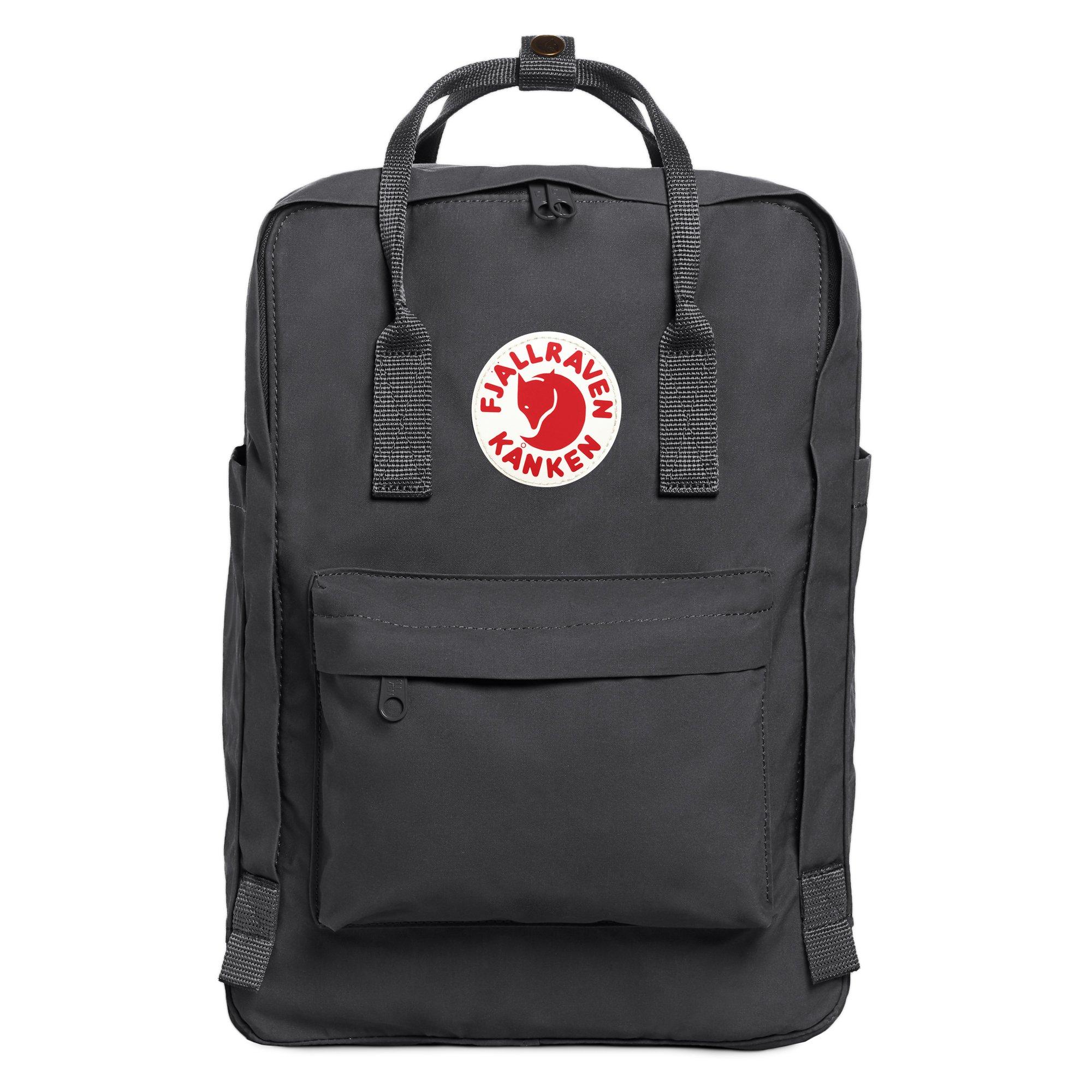 Fjallraven - Kanken Laptop 15'' Backpack for Everyday, Super Grey