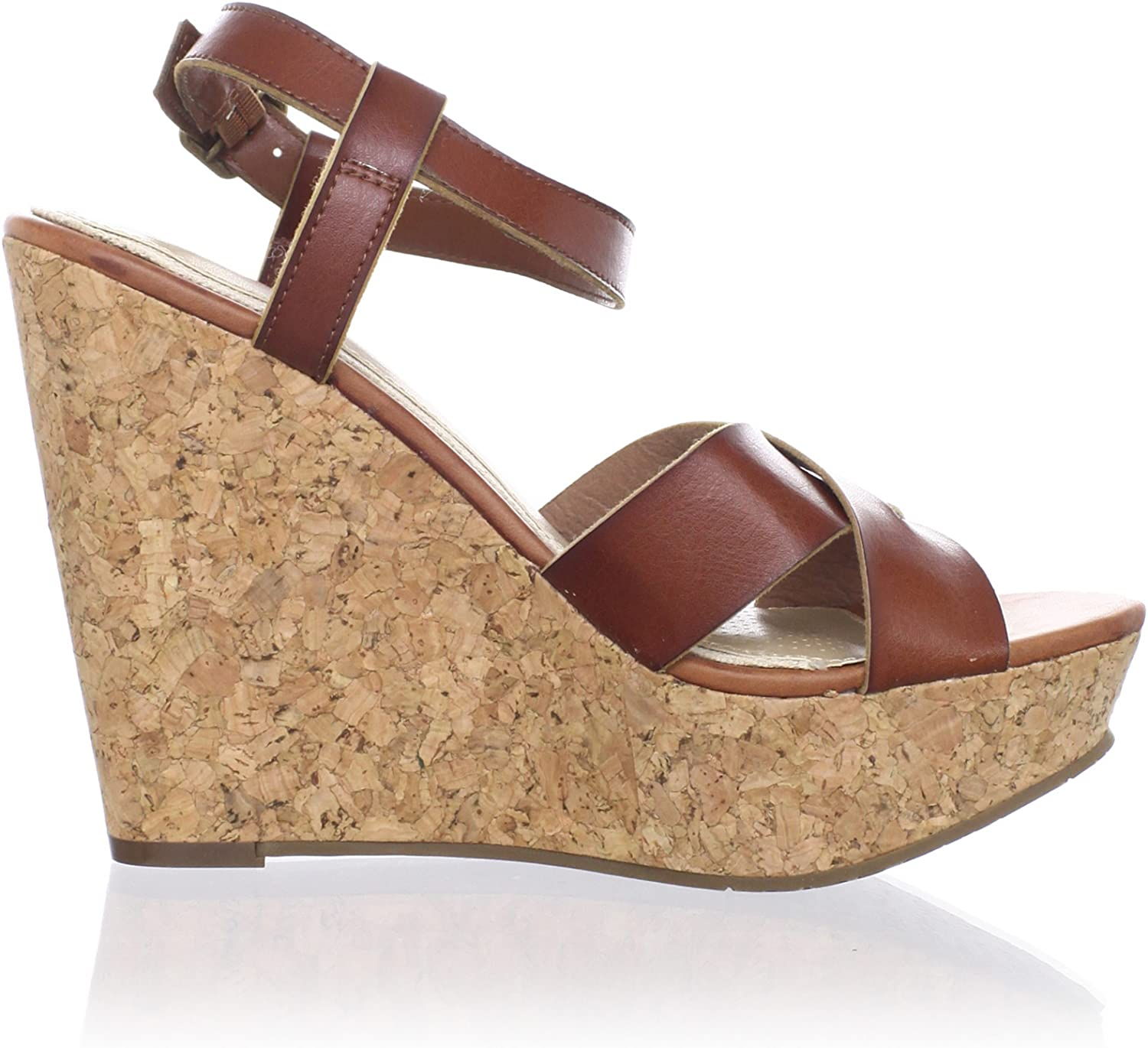 Ciao Bella Womens Tatiana Ankle-Strap Sandal