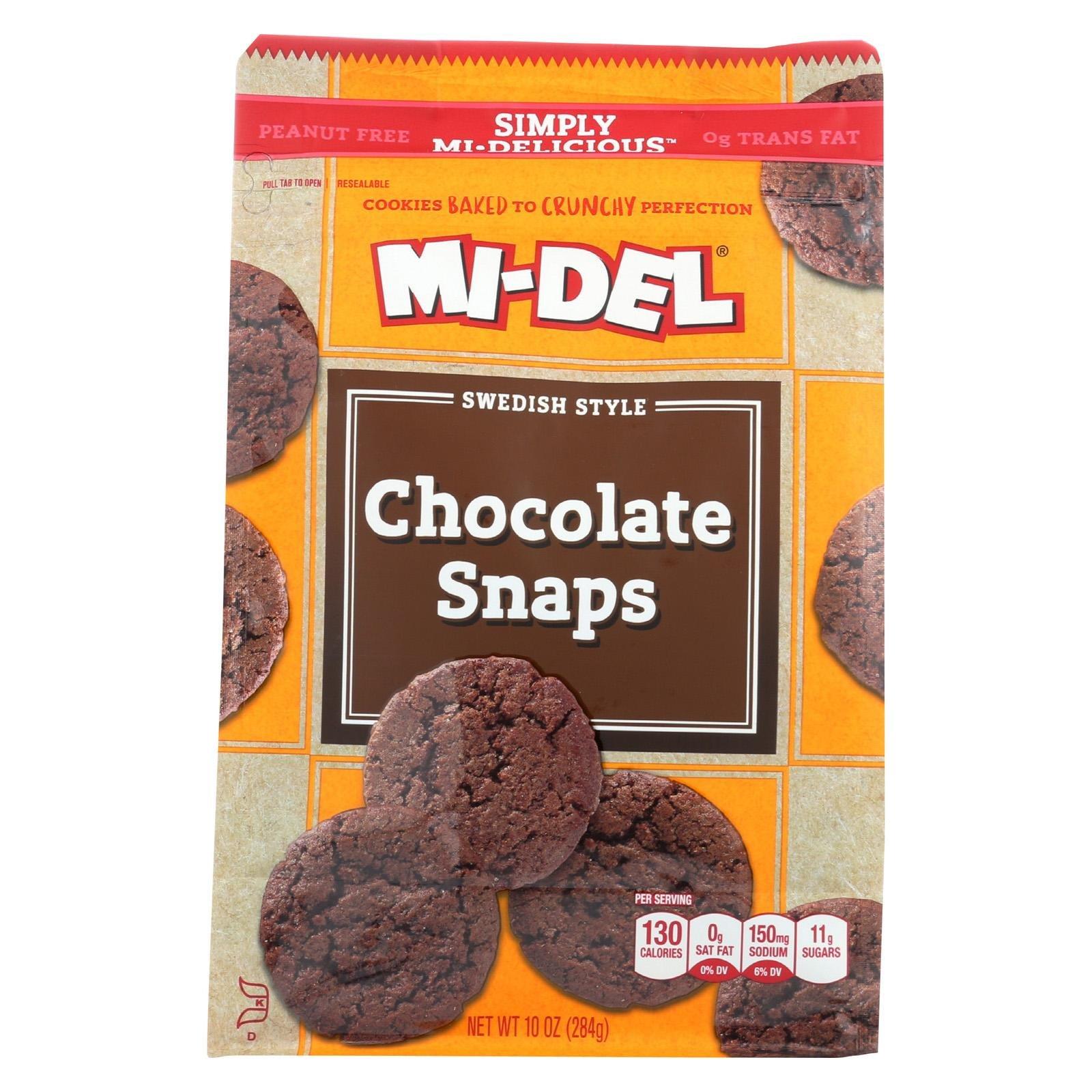 Midel Cookie Snap Choc