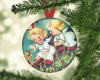 Old Fashioned Christmas Tree Decorations.Amazon Com Hanjear59 Angel Ornament For Christmas Tree