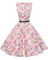 Maggie Tang Women S 1950s Vintage Rockabilly Dress At