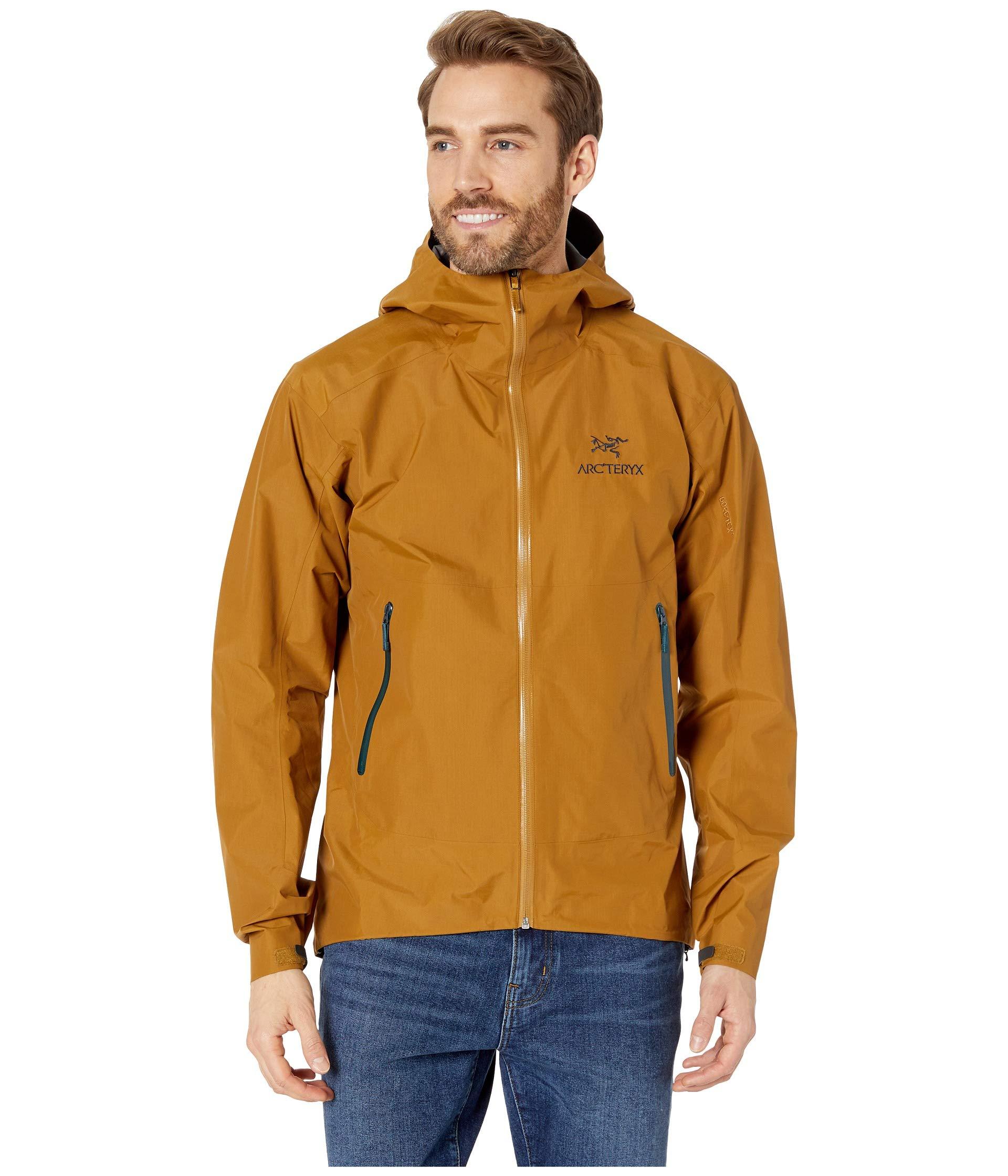 Arc'teryx Men's Zeta Sl Jacket, Yukon, Tan, Medium