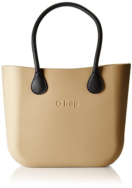 O bag - Obdy18_obcv02, Bolsos de mano Mujer, Beige (Sabbia), 38x31x14