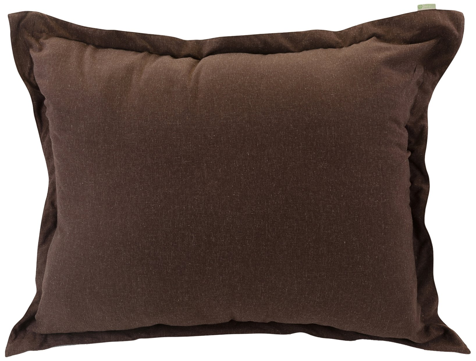 Majestic Home Goods Wales Floor Pillow, Chocolate by Majestic Home Goods